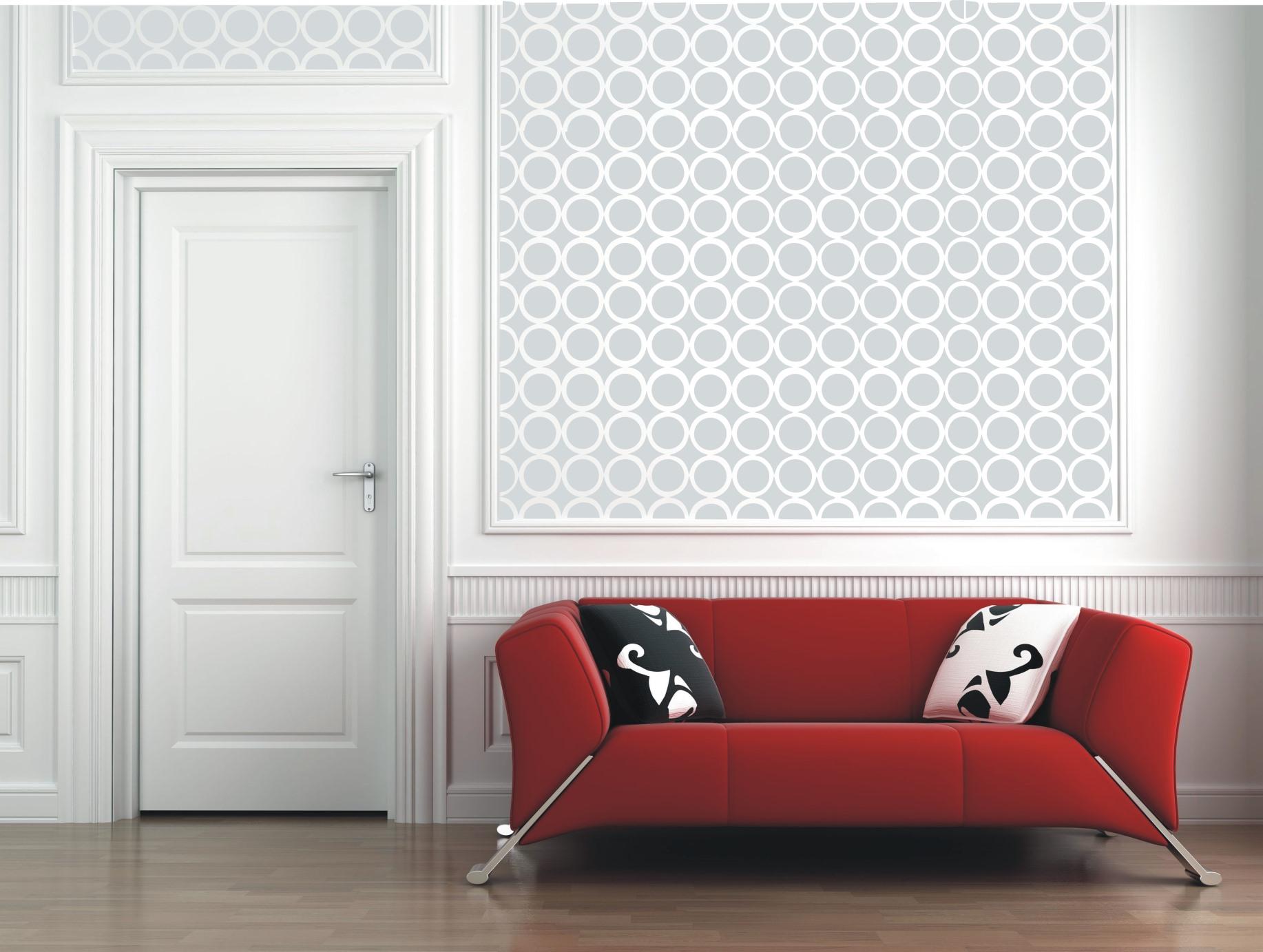 Circle diamond wallpaper the stencil company circle diamond wallpaper amipublicfo Image collections