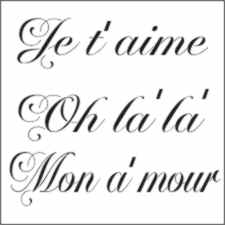 French Love Words