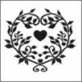 AR116 petal heart